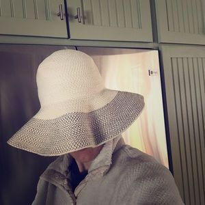 Woven beach hat